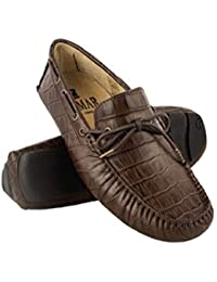 Zerimar Leder Bootsschuhe für Herren   Nautische Herren Sommer   Nautische  Schuhe Mann   Mokassins Mann 4e6a135ec3
