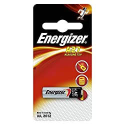 Energizer A27-C1 Specialist Alkaline Batteries Carded 1 by Energizer Batteries