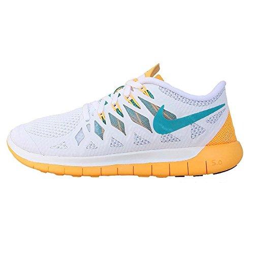 642199 101|Nike Free 5.0 White|36,5 USW 6