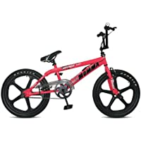 Rooster Big Momma Girls BMX with Mags -Pink, 11 Inch