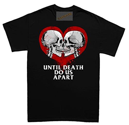 Renowned Emo Valentines Day True Love Unisex - Kinder T Shirt Schwarz