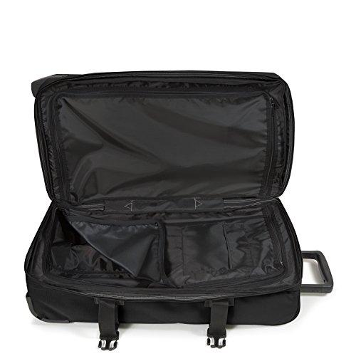 Eastpak Tranverz M Koffer, 67 cm, 80 L, Knit Grey Schwarz (Schwarz)