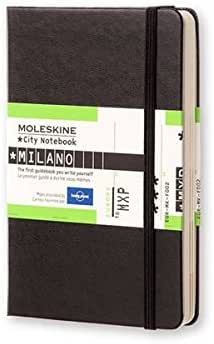 Moleskine City Notebook Milano, Pocket, Hardcover, schwarz