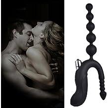 Ouneed Dildo pene anal Butt Plug vibrador G-Spot masajeador sexo adulto juguete para hombre o mujer