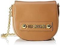 Love Moschino Borsa Small Grain PU, bolso bandolera para Mujer, 15x20x8 centimeters (W x H x L) de Love Moschino