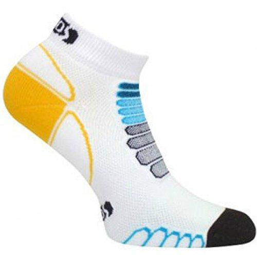 nt Silber Low Cut Leichtes Running Socks-Pair, Herren, weiß/schwarz, XL ()