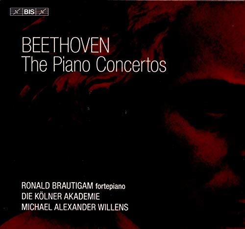 Beethoven: Piano Concertos [Ronald Brautigam; Die Kölner Akademie; Michael Alexander Willens] [Bis: BIS2274]