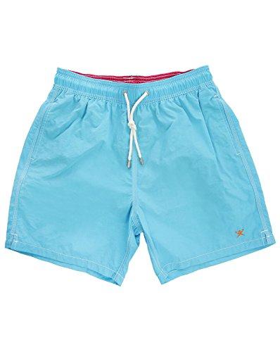 Hackett - Bañador, Solid Volley B, Niño, Color: Azul, Talla: 4