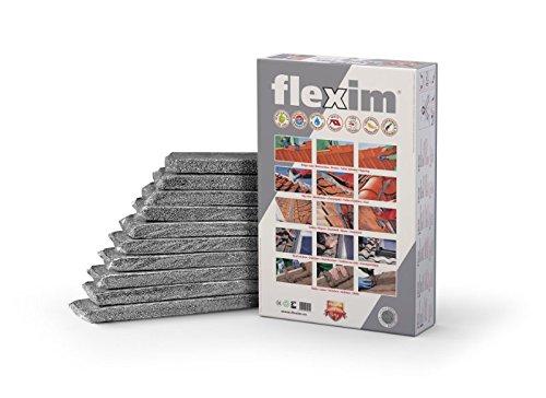 Flexim Dachmörtel, Grau, Paket mit 10 Streifen á 50 cm