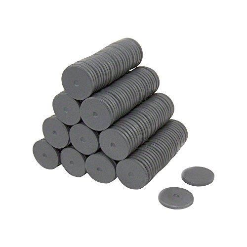 Magnet Expert® 25mm x 3mm Y10 ferrite aimant, 0,69kg force d'adhérence, pack de 250