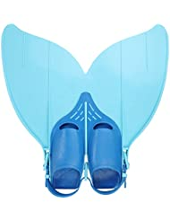 CoastaCloud- Aleta Sirena Juego Niño Adolescente Talla 34-42 Azul