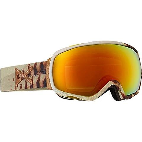 Burton Tempest Masque de snowboard Feather/Red