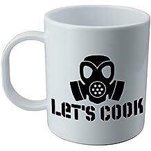 Taza y pegatina de la serie Breaking Bad - Let´s Cook