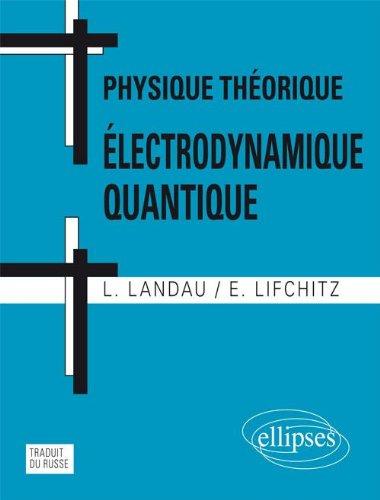 Physique Thorique lectrodynamique Quantique