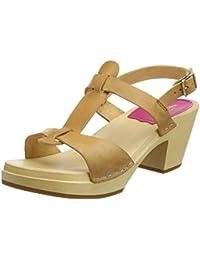 Swedish Hasbeens Greek Sandal, Zuecos para Mujer