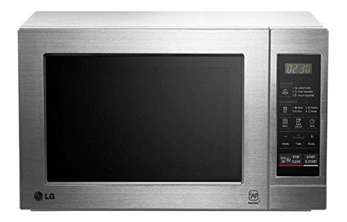 LG MH6044 VAT - Horno microondas con grill, color: plateado (potencia: 800...