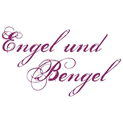 WANDKINGS Wandtattoo – Engel und Bengel – Wähle aus 5 Größen & 35 Farben