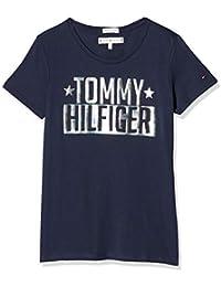 Tommy Hilfiger Foil Logo Tee S/S, T-Shirt Fille
