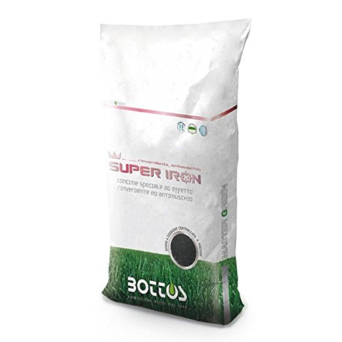 concime fertilizzante per prato bottos super iron 9-9-9 - kg 22.7