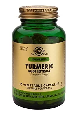 Solgar - Sfp Turmeric Root Extract, 60 veggie caps [Packaging May Vary] from Solgar