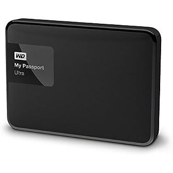 WD WDBBKD0020BBK-EESN My Passport Ultra Hard Disk Esterno Portatile, USB 3.0, 2 TB, Nero