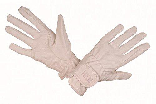 HKM Damen Reithandschuh-Supreme Handschuh, weiß, XS