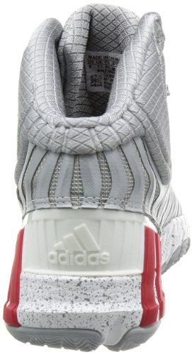 adidas Adipure Crazyquick 2.0, Chaussures de basket-ball homme Gris (Mid Grey/Light Scarlet/Running White)