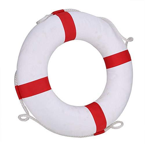 Duokon Swimmingpool-Sicherheitsring, Schwimmring-Rettungsschwimmer-Bojen-Schwimmfloss-Schwimmweste für Erwachsene Kinder im Freien