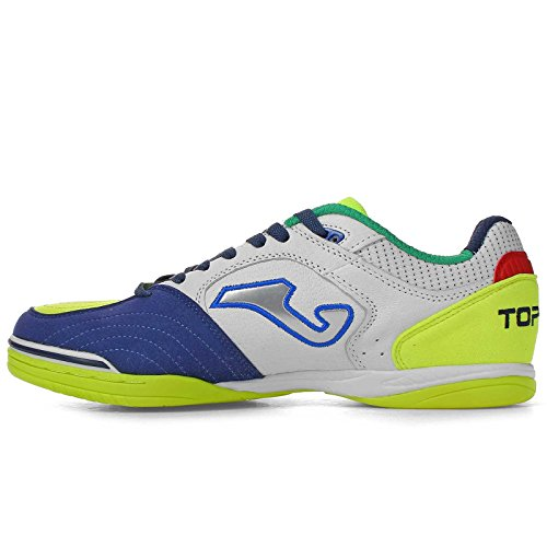 Joma Top Flex 836 Royal White Fluor Indoor - TOPS.836.IN (EU 42.5 - CM 27.5 - UK 8 - US 9)