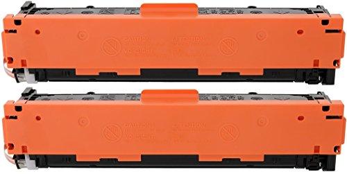 TONER EXPERTE 2 Negro Cartuchos de Tóner compatibles con HP CF210X 131X (2400 páginas) HP Laserjet Pro 200 Color MFP M276nw M276n M251nw M251n
