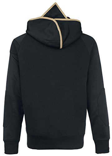 Assassin's Creed Logo Sweat à capuche zippé noir/or noir/or