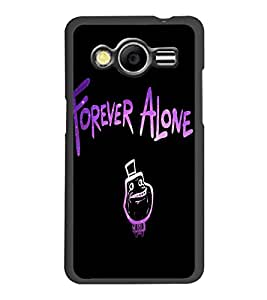 PrintDhaba Quote D-3455 Back Case Cover for SAMSUNG GALAXY CORE 2 G355H (Multi-Coloured)