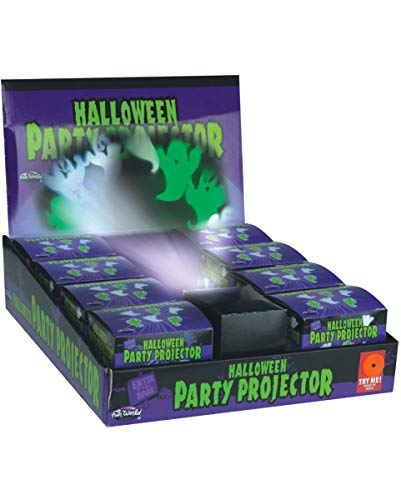 Horror-Shop Halloween Party Projektor Fliegende Geister als Dekoration