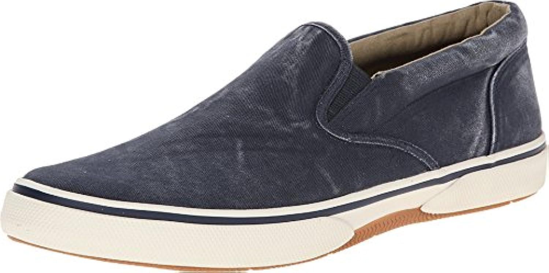 Sperry Zapatillas de Lona Para Hombre Azul Azul Marino