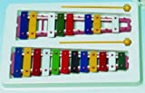 Metallophon 20 farbige Klangplatten