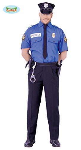 Polizist - Kostüm für Herren Gr. M/L, (Kostüme Ideen Cop)