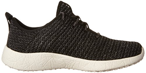 Skechers Ladies Burst Sneakers Black (bkw)