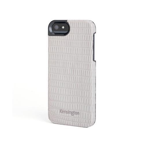 Kensington VestoCase K39624WW Leder Case für Apple iPhone 5 grau Stingray