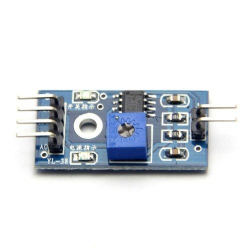 Generic Rain Sensitive Sensor Module, Rain Drop Detection Sensor Module / Raindrops Humidity Sensor For Arduino 41ofKcQaXmL