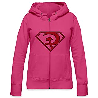 Red Son Womens Zipper Hoodie X-Large