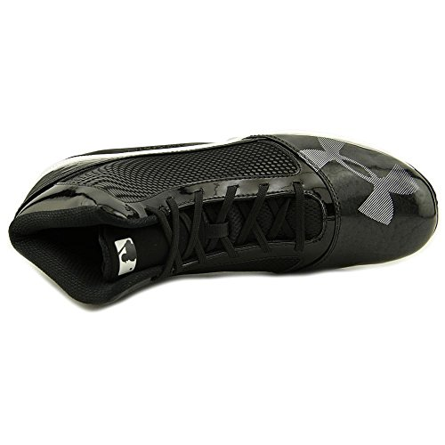 Under Armour Yard Mid St Baseball Cleat Synthétique Baskets Blk-Gry