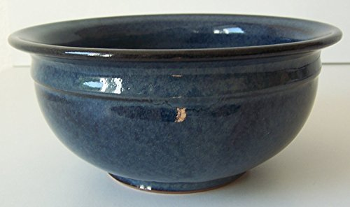 Töpferei Annett Fischer S3 Schüssel handgetöpfert Schüssel Keramik Höhe 7 cm Volumen ca. 500 ml