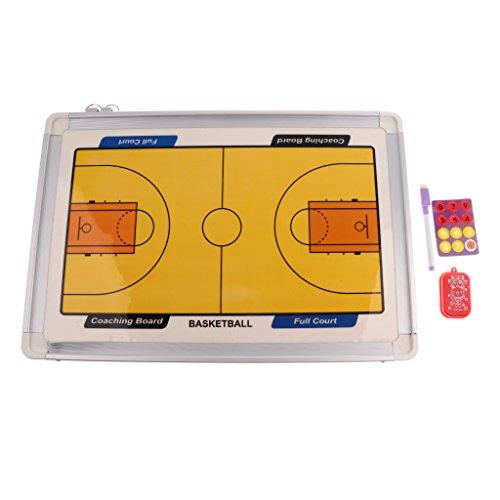 CUTICATE Basketball Magnet Coaching Trocken Löschen Brett Hängen Trainer Spielen Zwischenablage - Magnet Trockenen Löschen-board