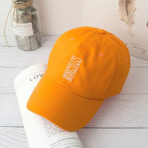 sdssup Sommer Sonnenhut Reise Sonnencreme geschwungene Kappe baseballmütze orange einstellbar Winton-fan