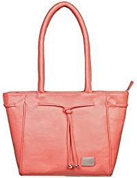 LB- HandBag For Girls And Women, Durable Spacious Designer Handbags With Multi Compartments- Pink,LB-484