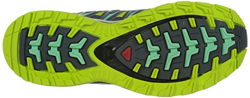 Salomon XA PRO 3D GTX Damen Traillaufschuhe Gelb (Gecko Green/Artist Grey-X/Light Gre)
