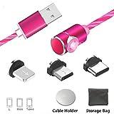 Câble USB de Type Magnétique de Type C avec Câble de Charge Magnétique avec Une...