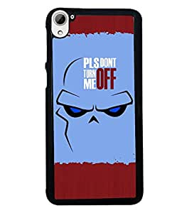 Fuson 2D Printed Quotes Designer back case cover for HTC Desire 826 - D4283