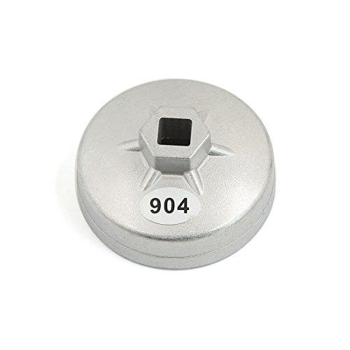 Sourcingmap® 1/5,1cm eckig 15Flöten 79mm Gap Ölfilter Schlüssel Auto Entferner Werkzeug (Werkzeug ölfilter)