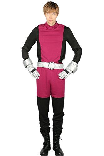 stüm Beast Boy Outfit Hero Kleidung Jumpsuit mit Gürtel Handschuh für Party Verrücktes Kleid Zubehör (Teen-kostüm Robin)